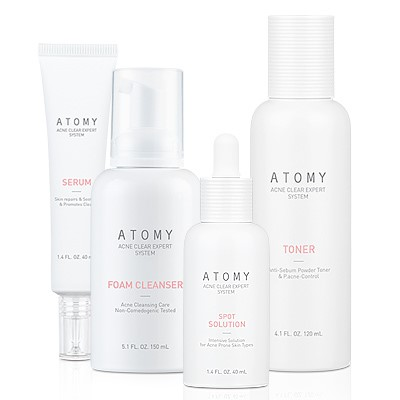 Acne clear expert set